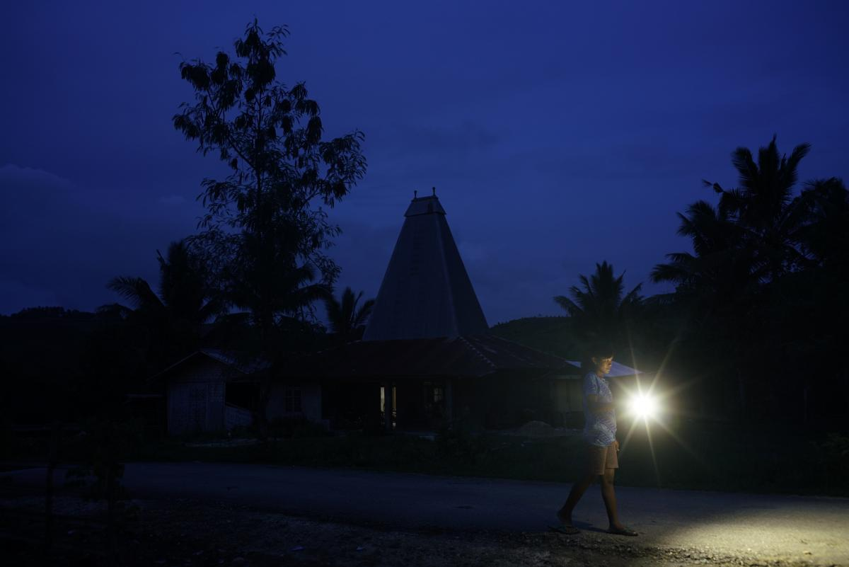 Sumba Island's only woman solar panel operator breaks stereotypes