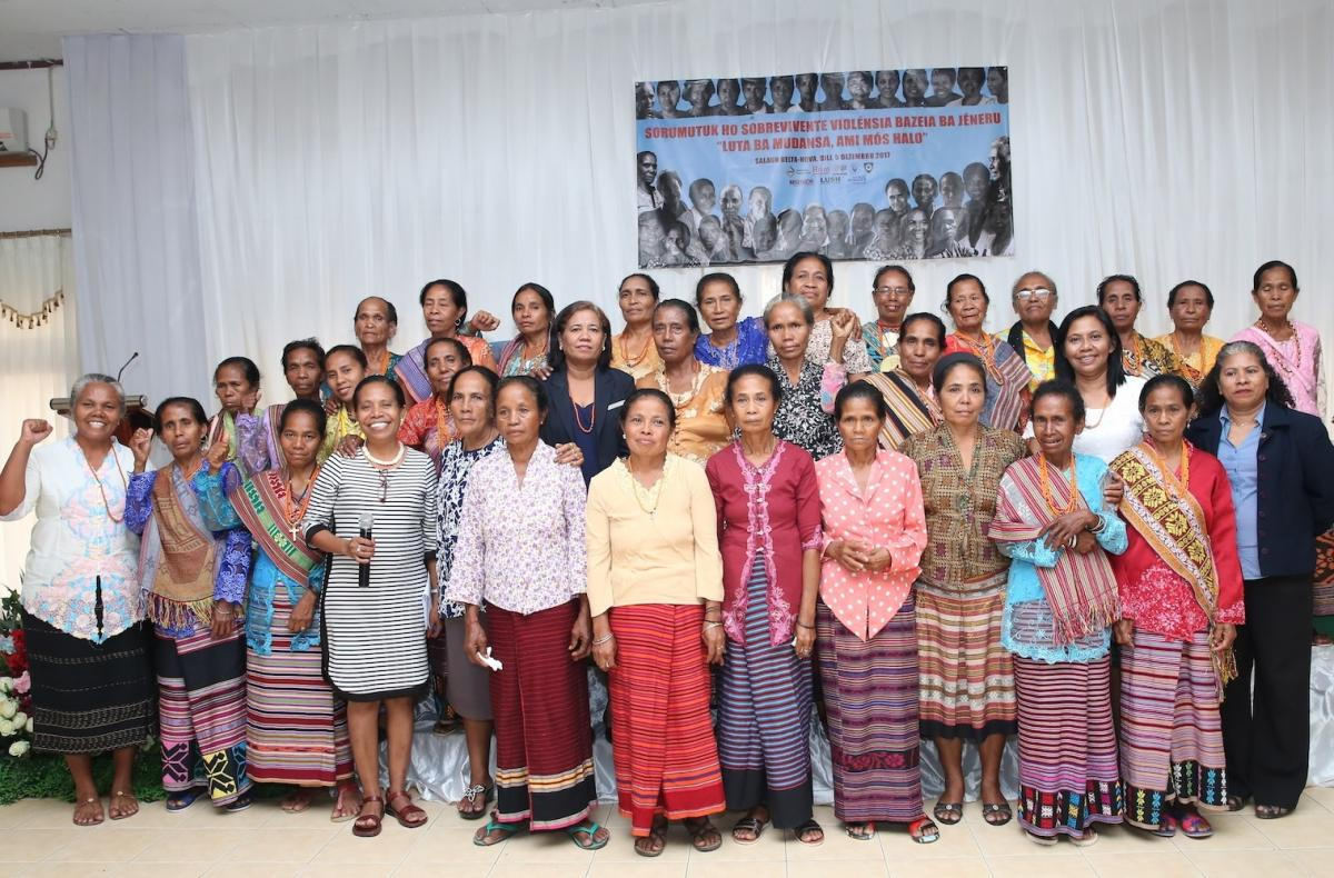 East Timorese Women Survivors are Heroes
