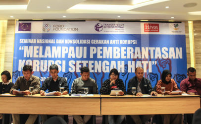 Combating Corruption Post General Election: Indonesian Civil Society's Recommendations for the Elected Government