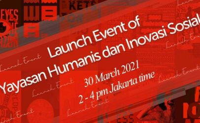 Executive Director's speech for the launch of Yayasan Humanis dan Inovasi Sosial